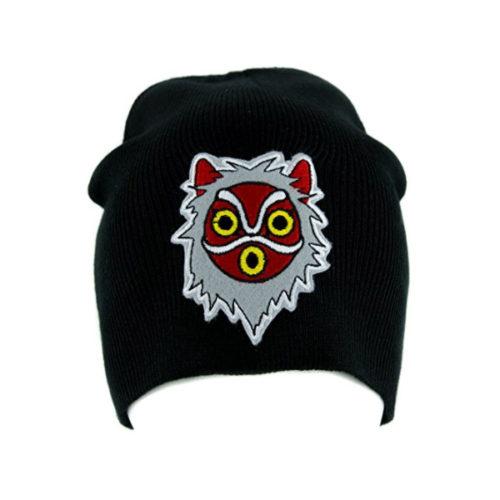 Princess Mononoke San Wolf Mask Beanie Knit Cap