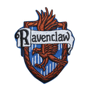 Ravenclaw Hogwarts' House Crest Embroidered Iron On Patch