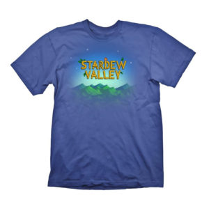 Official Stardew Valley Logo Cotton T-Shirt