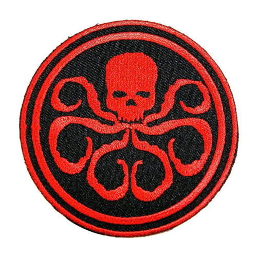 Embroidered Patch Captain America Hydra Logo