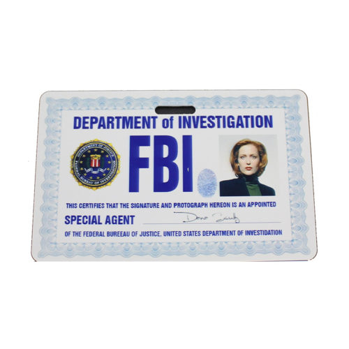 The X-Files Dana Scully ID Badge Prop