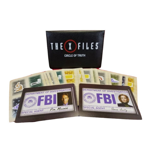 The X-Files Circle of Truth Card Game