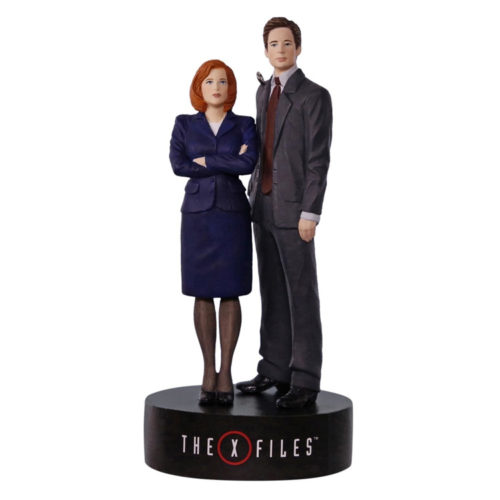 The X-Files Scully and Mulder Musical Ornament