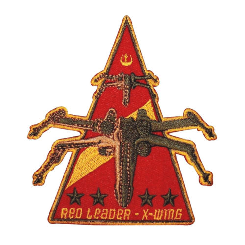 X-Wing Red Leader Rogue Squadron Embroidered Patch
