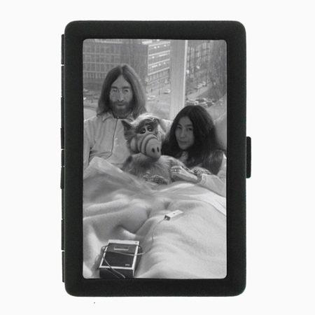 John, Yoko and ALF Black Cigarette Case Wallet