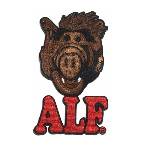 Alf Embroidered Iron On Patch Set of 3