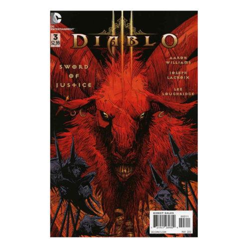 Diablo 2nd Series #3 DC Comic Book