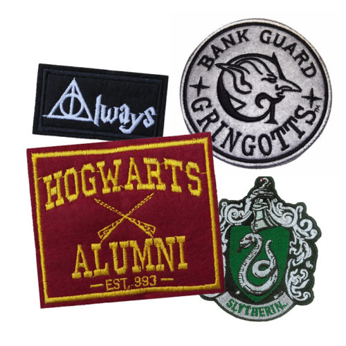 Magical Harry Potter Embroidered Patches to Showcase Your Love