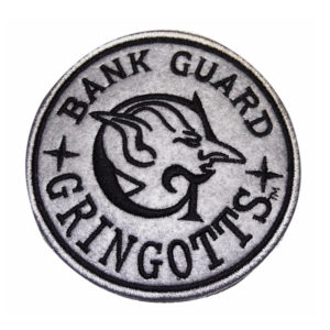 Harry Potter Embroidered Patch: Gringotts Bank