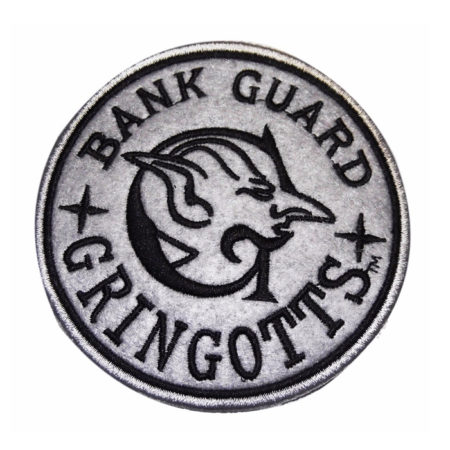 Harry Potter Embroidered Patch: Gringotts Bank