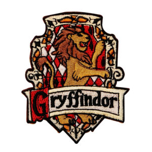 Harry Potter Embroidered Patch: Gryffindor House Crest