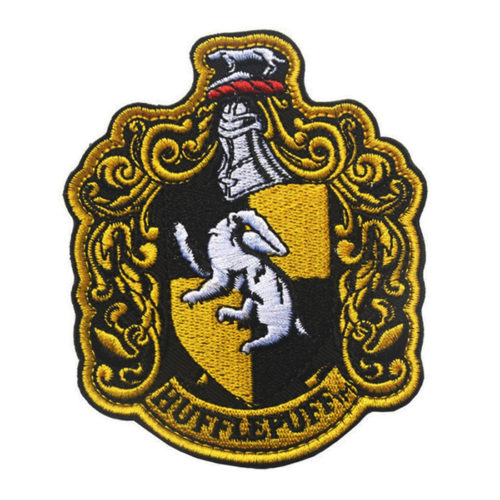 Harry Potter Embroidered Patch: Hufflepuff House Crest