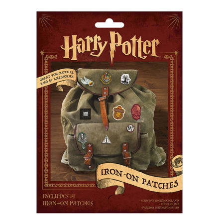 Harry Potter Embroidered Iron On Patches