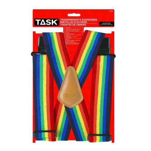 Mork & Mindy Rainbow Suspenders