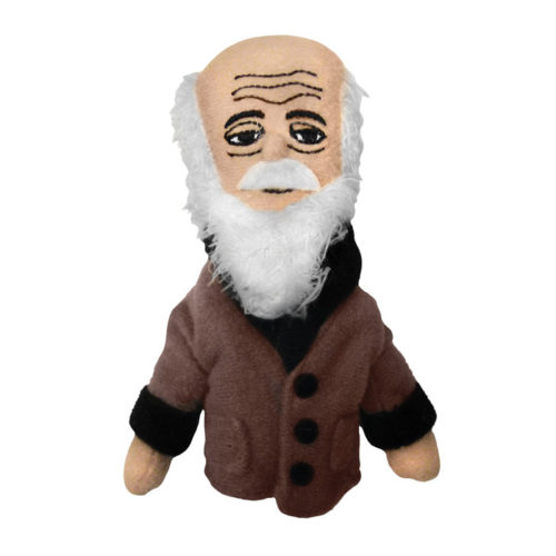 Charles Darwin Finger Puppet and Refrigerator Magnet