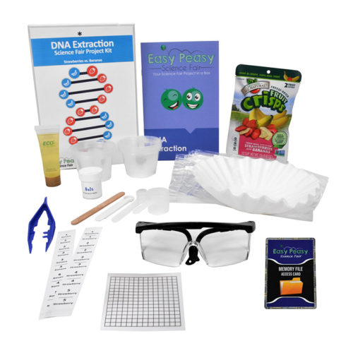 DNA Extraction Science Fair Project Kit