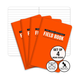 The Indestructible Waterproof Tearproof Field Notebook