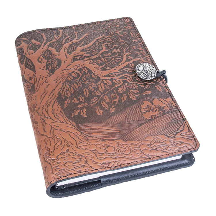 Leather Refillable Journal Tree of Life