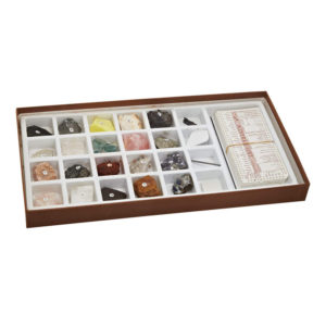 Mineral Identification Kit with Samples