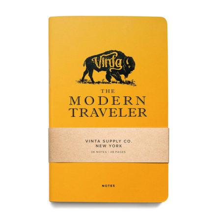 The Modern Traveler 3 Pack Field Notebooks