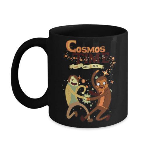 Carl Sagan Cosmos Time Mug with Neil Degrasse Tyson