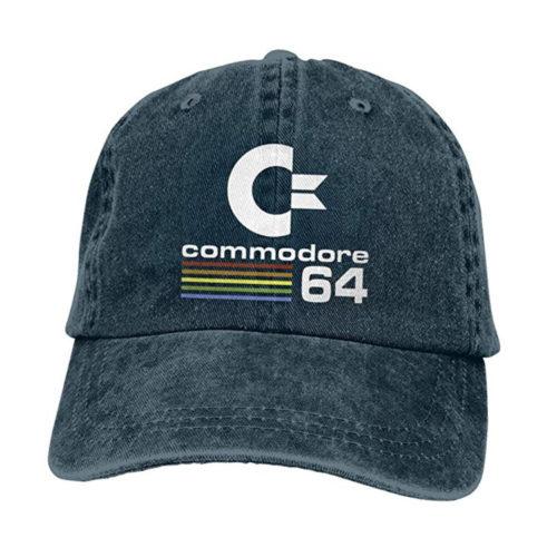 Commodore 64 Adjustable Baseball Cap Washed