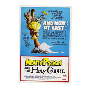 Monty Python and the Holy Grail 24x36 Movie Poster