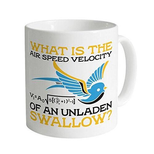 Monty Python Unladen Swallow Mug 11 Oz
