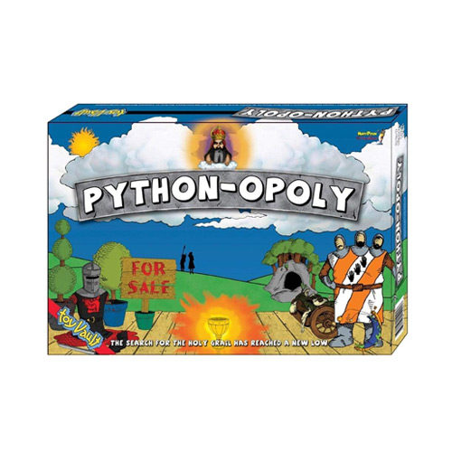 Pythonopoly (Monty Python Monopoly) Boardgame by Toy Vault