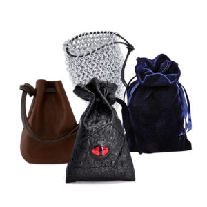 Fantastic Dice Pouches and Bags for your RPG Sessions