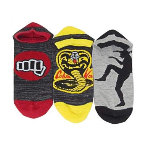 Karate Kid Adult Unisex 3-Pack Ankle Socks