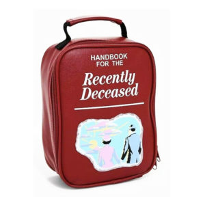 Beetlejuice Handbook For The Recently Deceased Lunch Bag