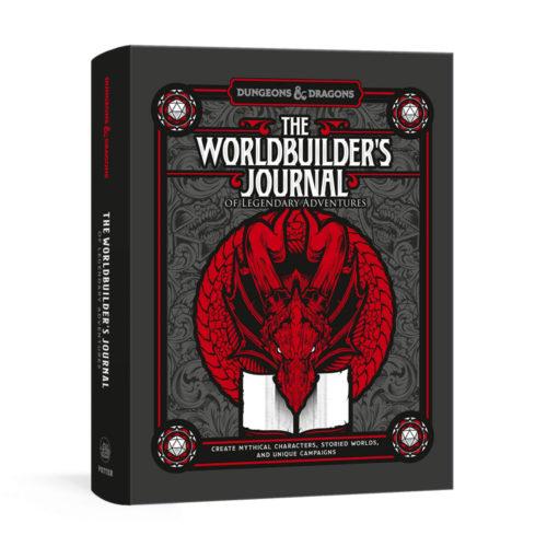The Worldbuilder's Journal of Legendary Adventures