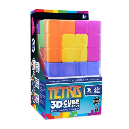 Tetris Brainteaser Cube 3D Puzzle by MasterPieces