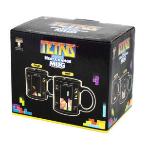Tetris Heat Changing Ceramic Coffee Mug