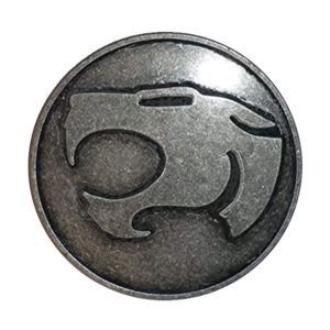 Thundercats Belt Buckle in Silver