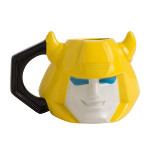 Transformers Bumblebee Ceramic Sculpted Mug