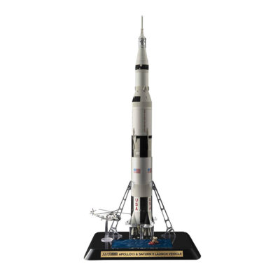 Apollo 13 and Saturn V Launch Rocket by Bandai Tamashii Nations