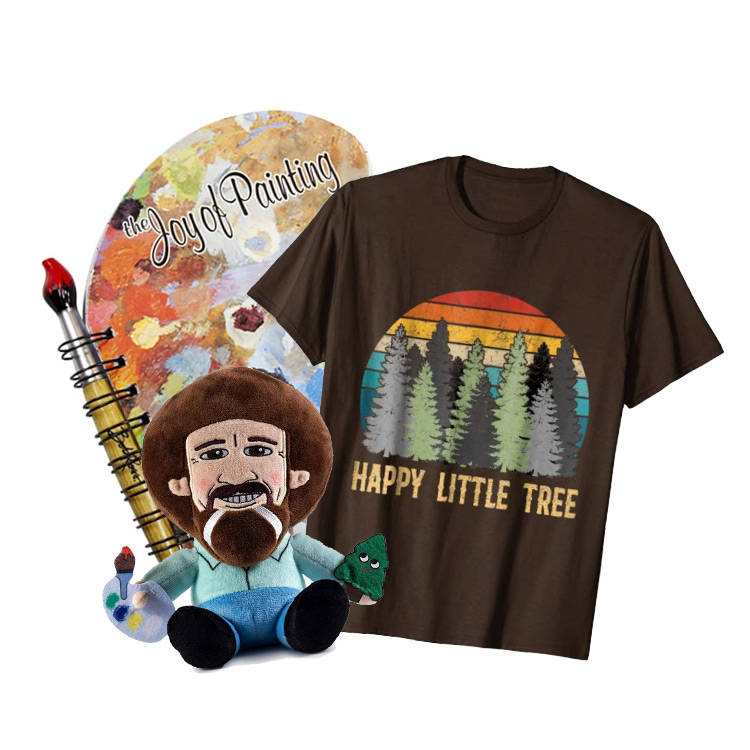 Friendly Bob Ross Gift Ideas and Products for Happy Artists