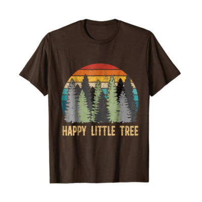 Bob Ross Happy Little Tree T-Shirt