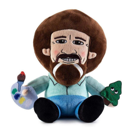 Bob Ross Plush Doll Toy by Kidrobot