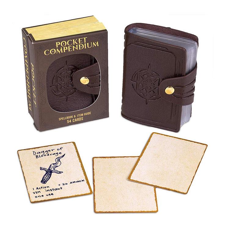 Customizable RPG Spellbok Pocket Compendium