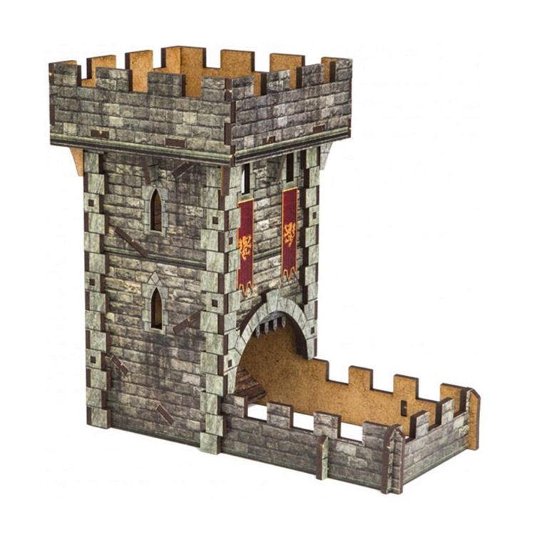 Medieval Dice Tower for Dice Rolling by Q-Workshop
