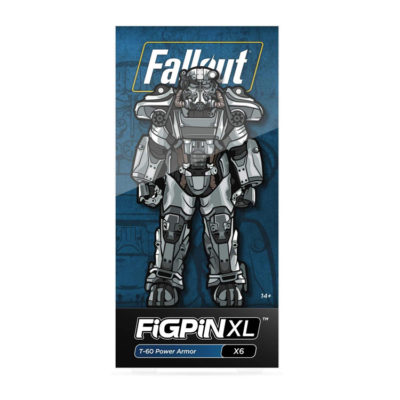 Fallout T-60 Power Armor Collectible Pin