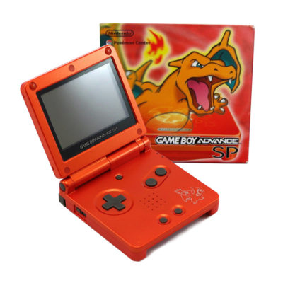 Nintendo Gameboy Advance SP: Limited Edition Charizard