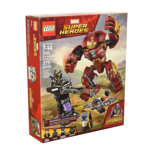LEGO Marvel Avengers The Hulkbuster Smash-Up 76104