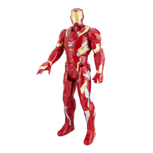 "Marvel Avengers Tony Stark Electronic Iron Man 12"""