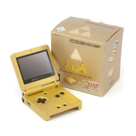 Nintendo Gameboy Advance SP: Limited Edition Zelda