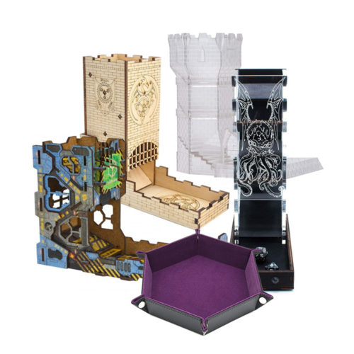 The Best Dice Towers and Trays for Roleplaying, DnD and Tabletop