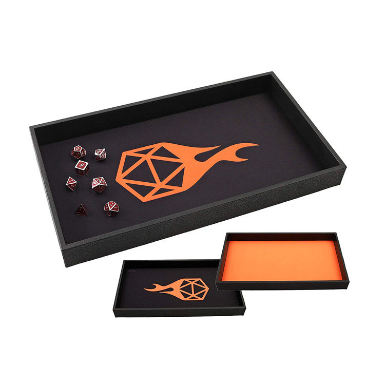 Double Sided Neoprene Rolling Dice Mat for Tabletop RPGs